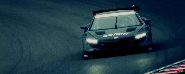 Priveste in actiune noua masina de curse Honda NSX Concept-GT