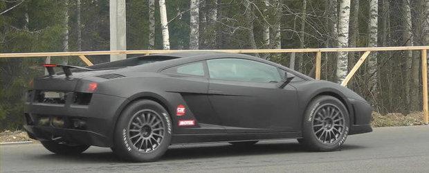Priveste in actiune si detaliu un Lamborghini Gallardo de peste 1.700 cai putere!