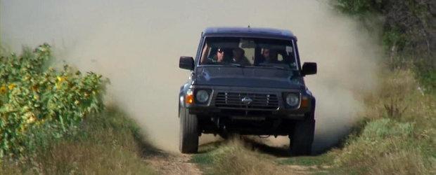 Priveste in actiune un Nissan Patrol cu motor de Skyline!