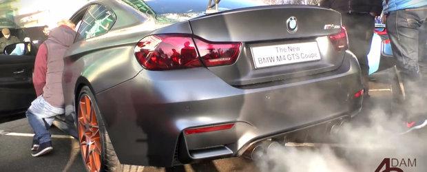 Priveste indeaproape si asculta evacuarea noului BMW M4 GTS