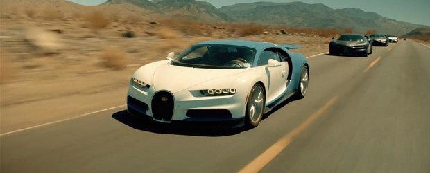 Proba de foc prin care noul Bugatti Chiron a trecut inainte de a intra in productie de serie