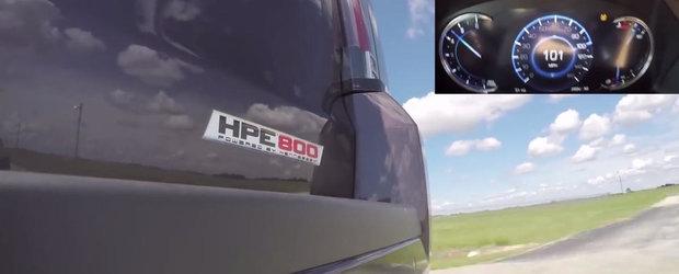 Probabil ardeai de nerabdare sa vezi cum accelereaza un SUV de peste 840 CP si 2.7 tone