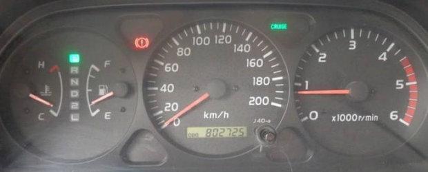 Probabil cea mai condusa Toyota Land Cruiser din lume. A rulat peste 800 mii km in ultimii 14 ani.