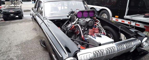 Probabil cea mai fioroasa masina de drag-racing: are 3000 cp si merge cu alcool