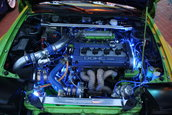 Probabil cea mai tunata masina din Romania: Mitsubishi Eclipse