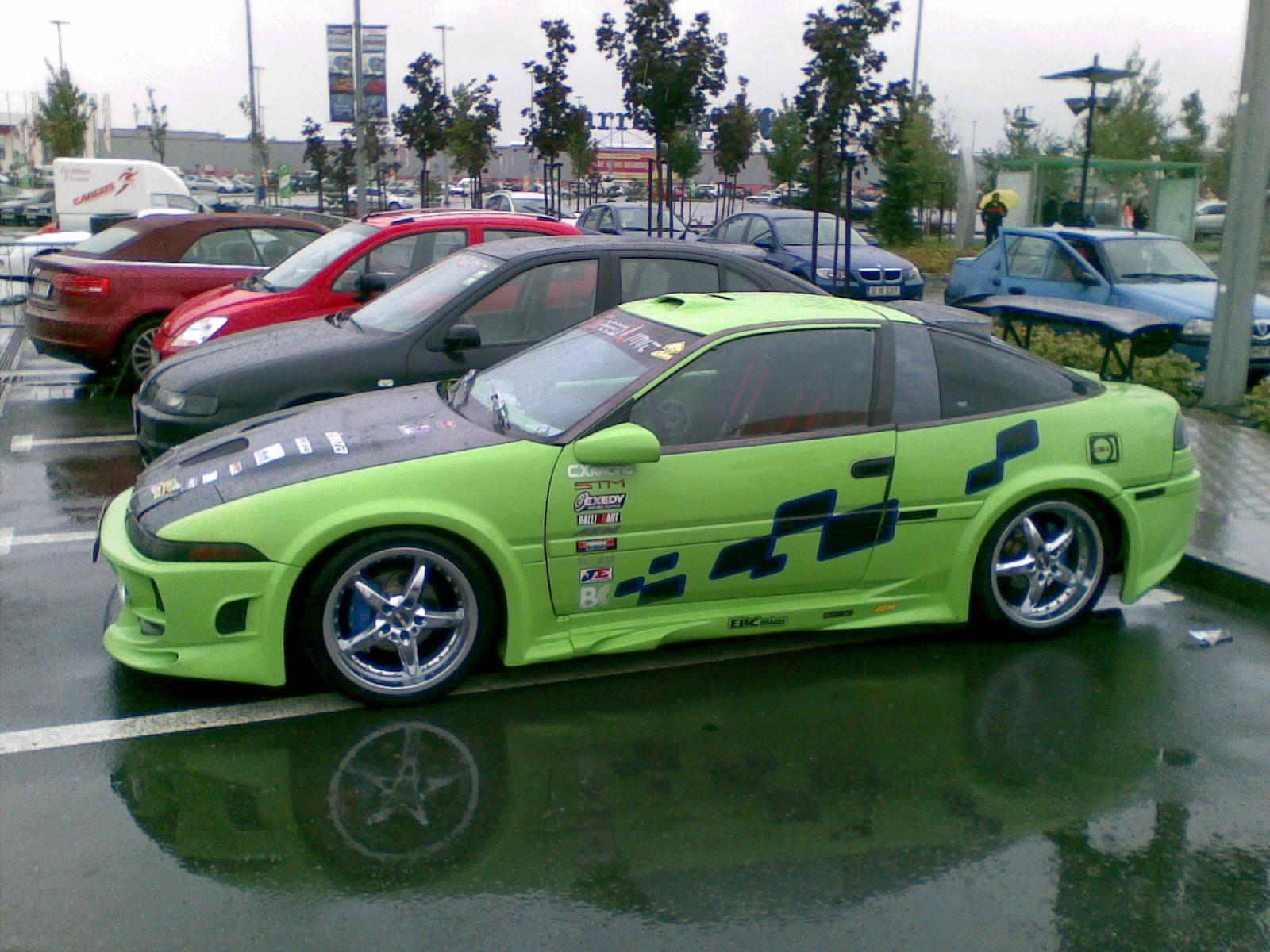 Probabil cea mai tunata masina din Romania: Mitsubishi Eclipse - Probabil cea mai tunata masina din Romania: Mitsubishi Eclipse