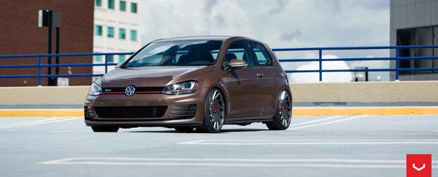 Probabil cel mai apetisant Volkswagen Golf VII din lume.