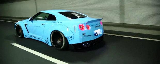 Probabil cel mai impresionant Nissan GT-R modificat din intreaga lume.