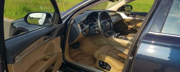 Probabil cel mai rulat Audi A8 din lume. Cum arata bolidul de lux dupa 855.315 KM parcursi in total
