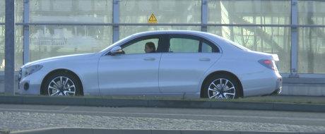 Probabil cele mai clare imagini de pana acum cu exteriorul noului Mercedes E-Class