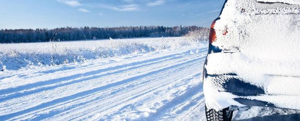 Probleme auto care pot aparea pe timp de iarna