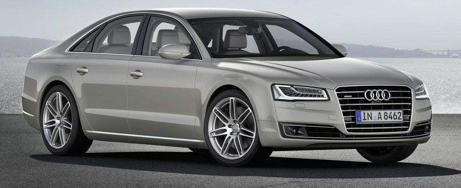 Probleme cu nava amiral. Audi recheama in service 5.000 de A8-uri comercializate in Europa