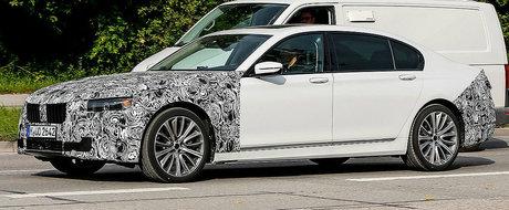 Probleme cu noua nava amiral? BMW pregateste deja un facelift pentru actuala Serie 7, masina lansata in 2015