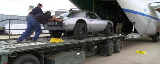 Producatorii FURIOUS 7 ne arata cum au aruncat cu masinile din avion