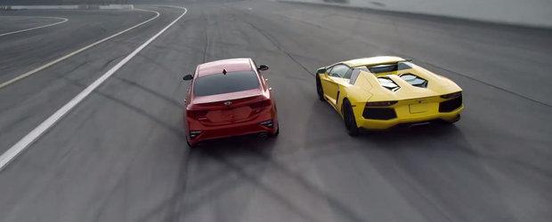 Producatorul o compara cu un Lamborghini de ultima generatie. Reclama a strans mii de vizualizari in doar cateva ore