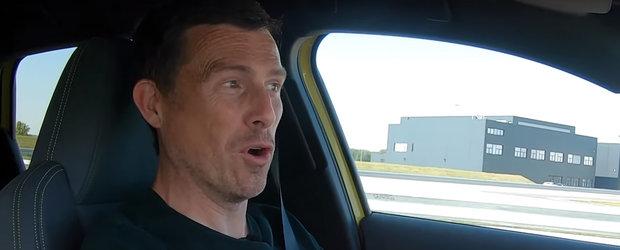 Producatorul spune ca face suta in 4.8 secunde, insa masuratorile arata altceva. VIDEO