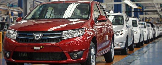 Productia Dacia din Maroc incepe sa o depaseasca pe cea de la Mioveni