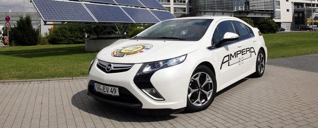 Productia de automobile Opel, alimentata de energie solara