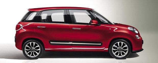 Productia Fiat 500 L debuteaza in luna mai in Serbia