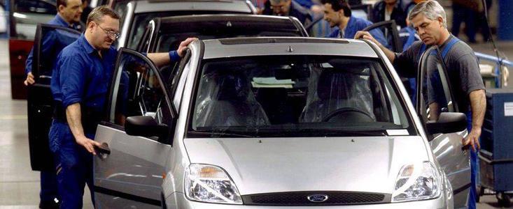 Productia Ford la Craiova se va reduce la jumatate