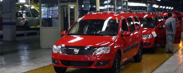 Productia la Dacia Mioveni va fi oprita in luna august