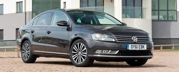 Productia lui VW Passat, suspendata timp de 2 zile