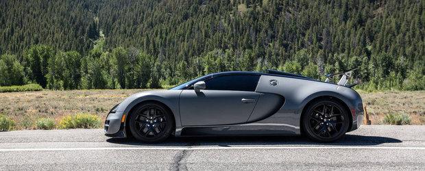 Productia modelului Bugatti Veyron se apropie de sfarsit