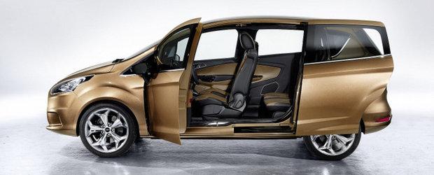 Productia modelului Ford B-Max incepe in mai 2012
