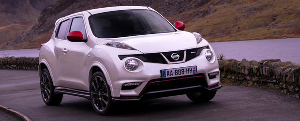 Productia noului Nissan Juke Nismo a debutat in Marea Britanie