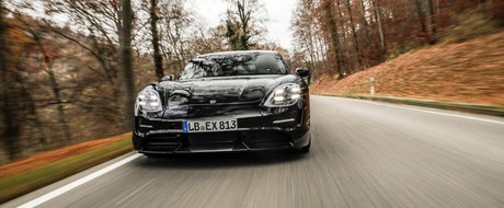 Program titanic pentru prima electrica de la Porsche. TAYCAN a parcurs pana acum 6 milioane de km
