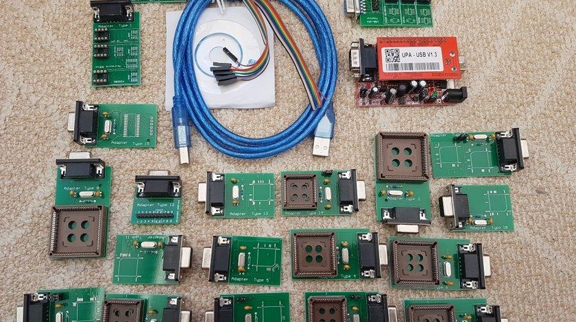 Programator V 1.3.0.14 Super UPA RED - rosu USB + 21 daptoare UUSP