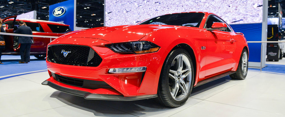 Progres sau regres? Uite cum arata in realitate noul Mustang Facelift
