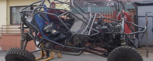 Proiect 100% romanesc - masina pentru off-road extrem