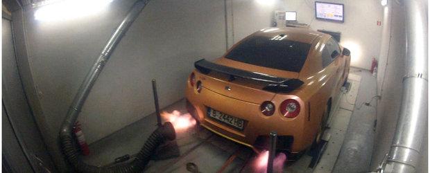 Proiect Exelixis: Nissan GT-R de 867 cp modificat in Romania