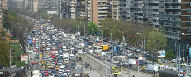 """Proiectele primaritei Firea """"au dat roade"""". BUCURESTIUL este cel mai aglomerat oras din lume dimineata"""