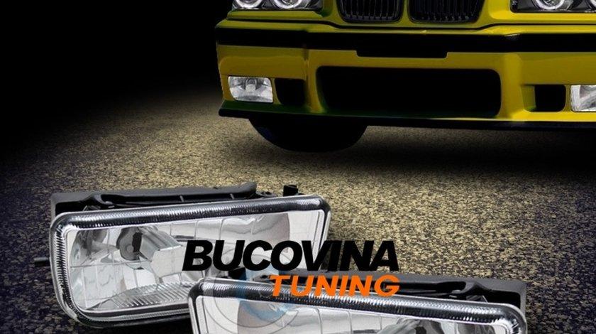 PROIECTOARE CEATA BMW E36 CU STICLA CLARA