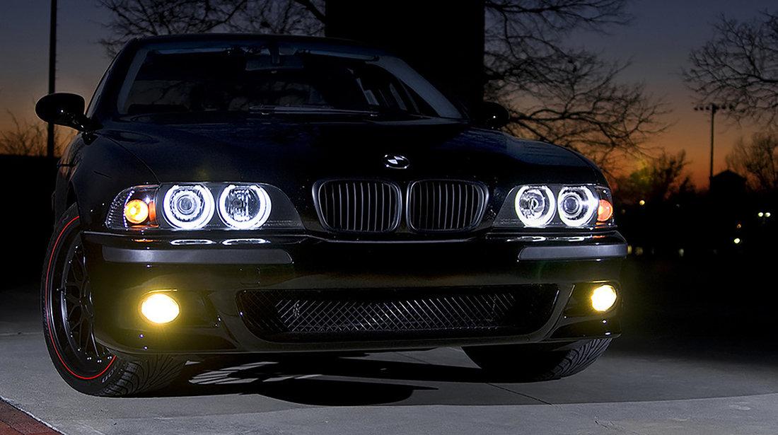 Proiectoare ceata galbene BMW Seria 3 E46/ Seria 5 E39