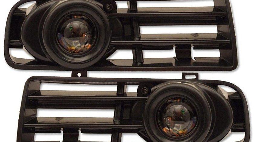 PROIECTOARE CEATA VW GOLF 4 CU LUPA FUNDAL CROM -COD FKRL5996