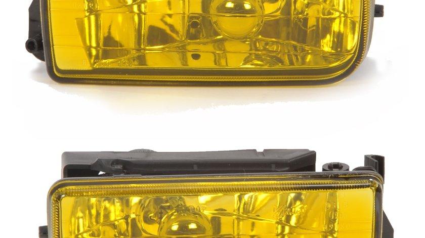 Proiectoare clare BMW E36 1991-1999 galbene