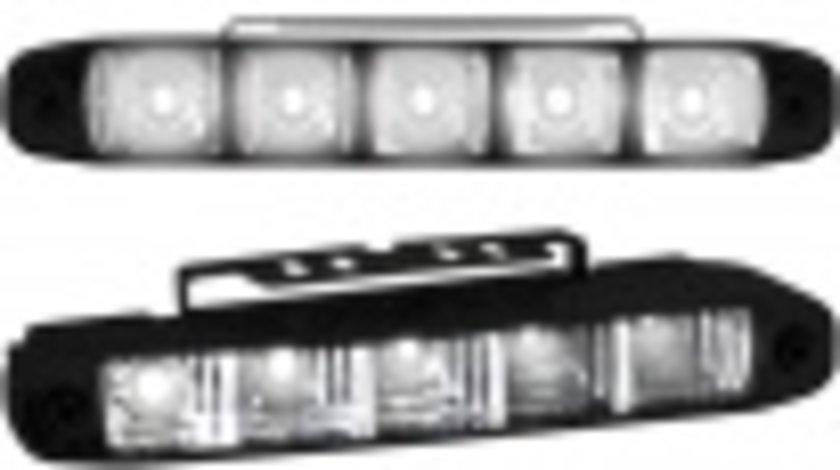 PROIECTOARE DAYLINE/DAYLIGHT CU 5 LED-URI FUNDAL NEGRU -COD LGX07B