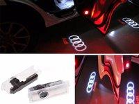 Proiectoare Holograma Led Logo Dedicate Audi - Set 2 buc.- Accesorii Auto