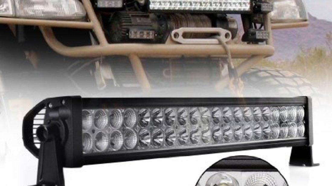 Proiectoare led bullbar,rollbar,grila,plafon off-road 120w
