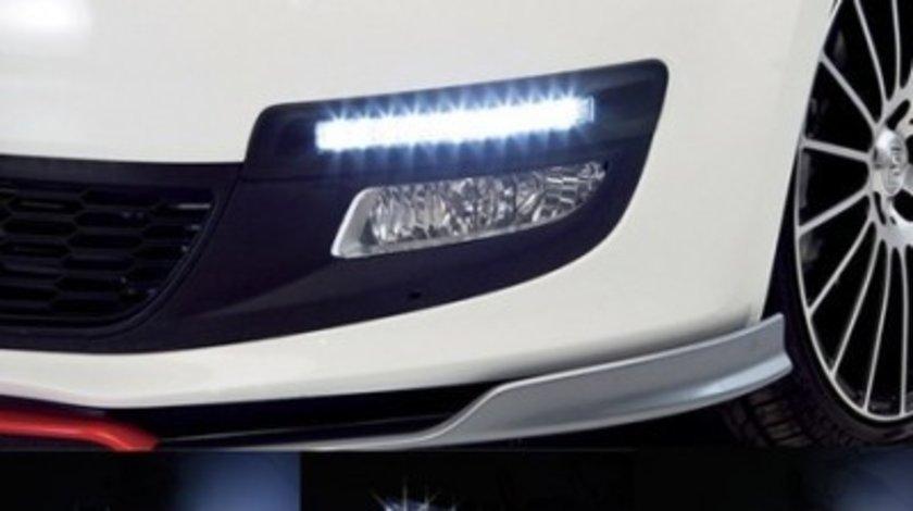 Proiectoare LED DRL / Lumini zi UNIVERSALE / Lumina ALBA