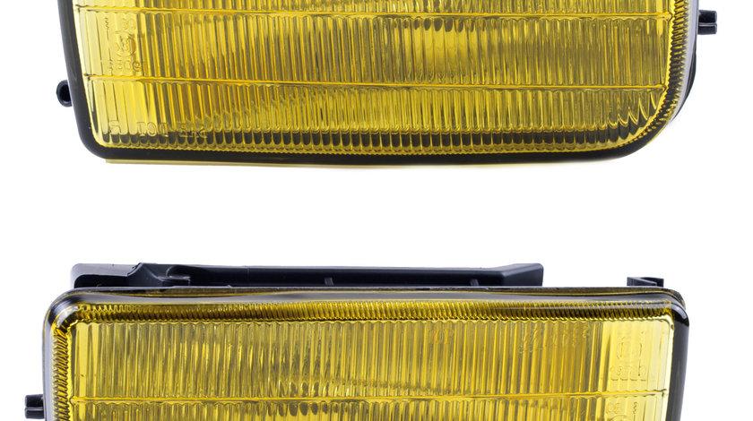 Proiectoare OEM style BMW E36 1991-1999 galbene