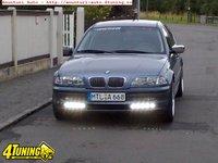 Proiectoare S6 cu leduri TFL pentru BMW E46 seria 3