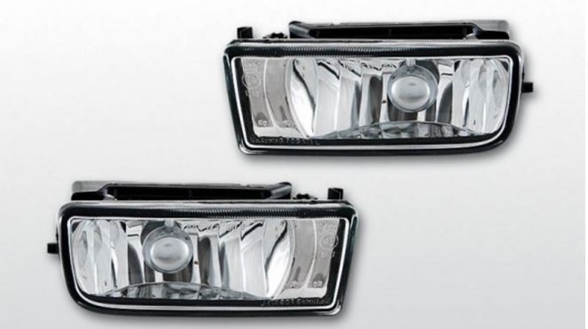 Proiector ceata BMW E36 cromat