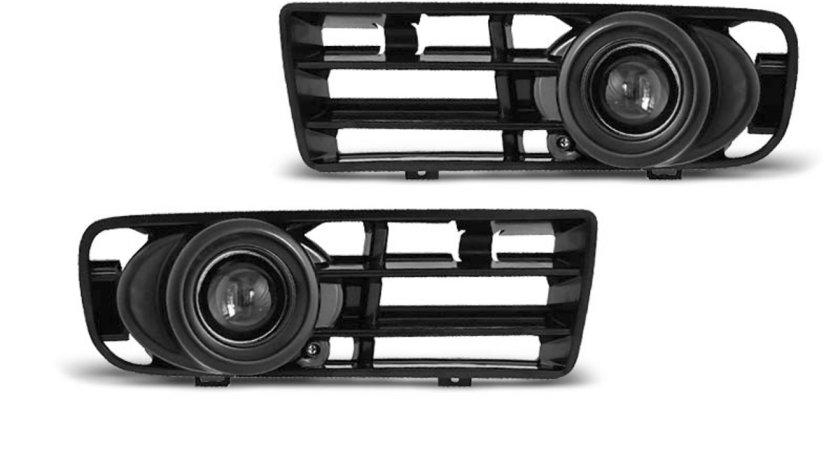 Proiector ceata cu grila pentru VW GOLF 4 09.1997-09.2003 negru