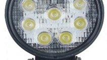 Proiector LED 27W 12/24V CH007-27W Flood Beam 60°...