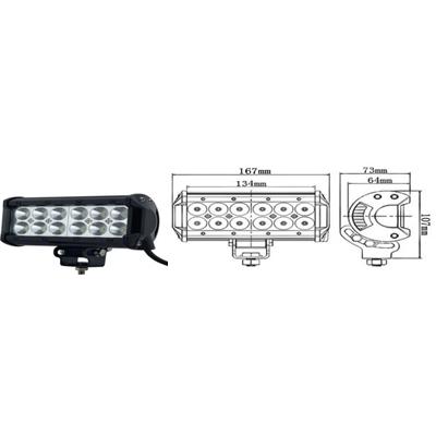 Proiector LED ART718, 36W COMBO, 12/24V