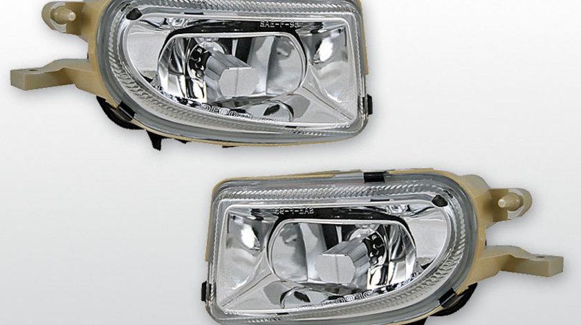 Proiector Mercedes W210 E-Class/ SLK/ CLK Cromat